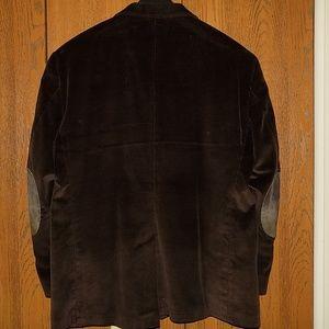 Stafford Suits & Blazers - Men's Corduroy Stafford Brown Sport Coat 50R